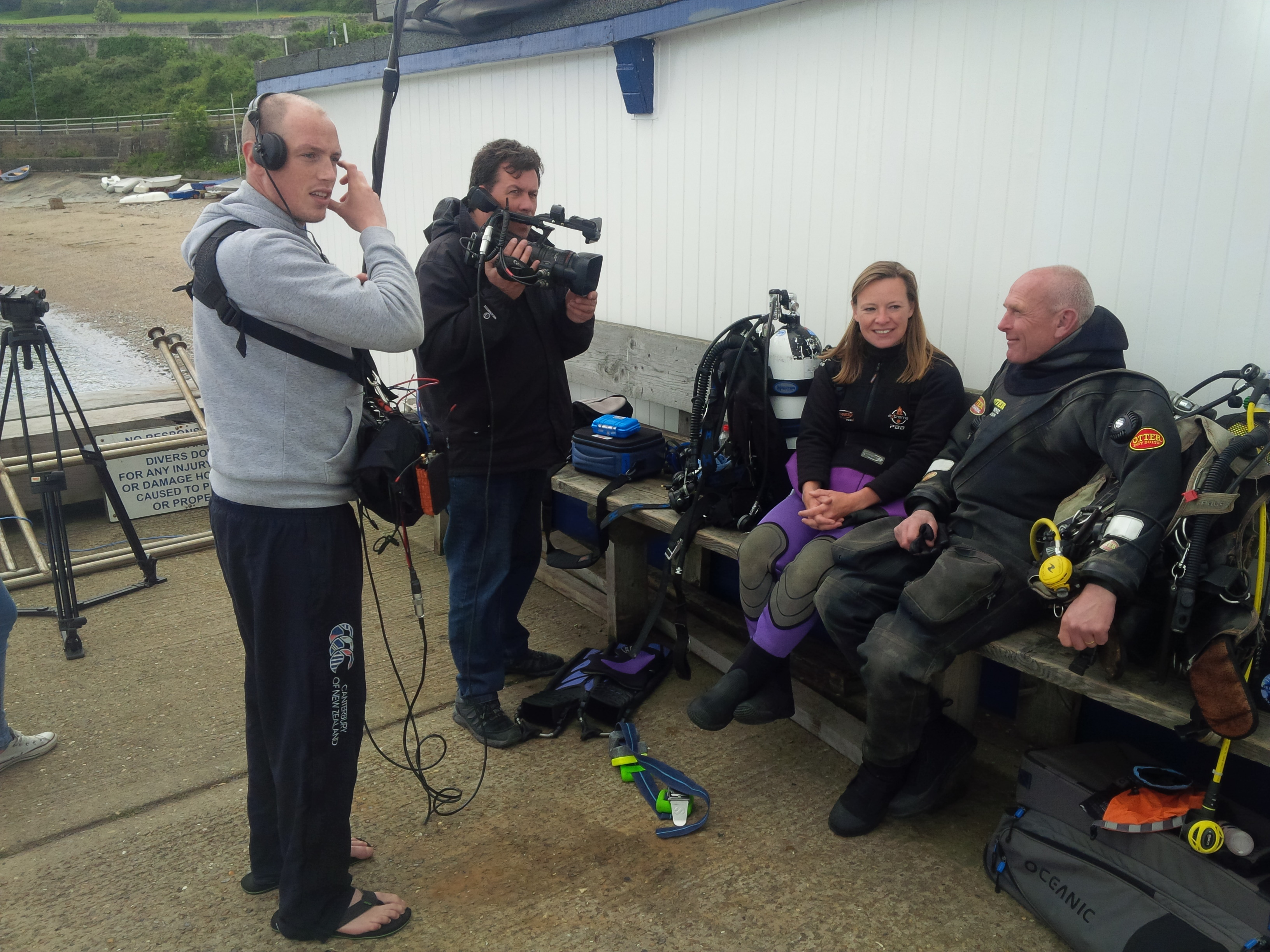 BBC One Show shoot in Swanage