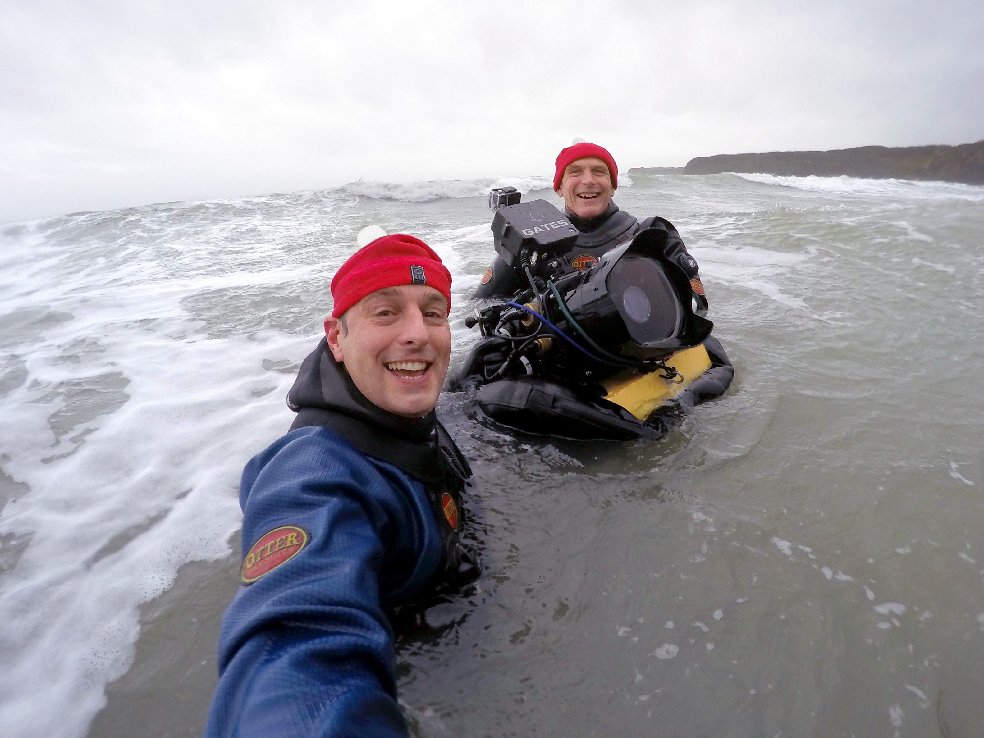 Underwater filming - specialist equipment
