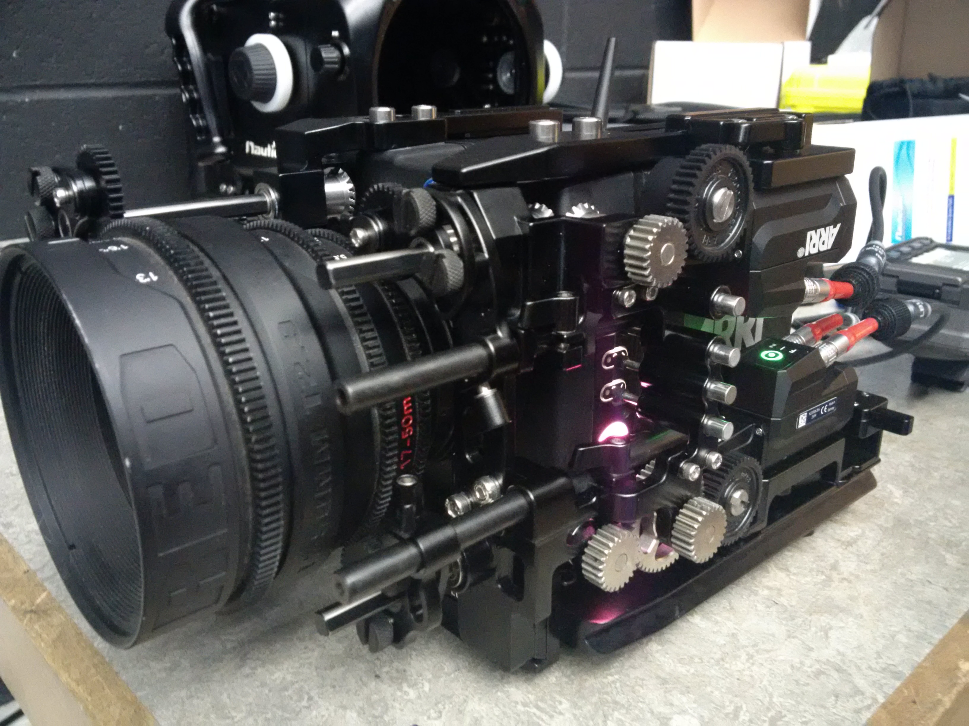 c-motion motors on arri mini