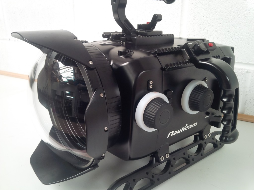 Underwater housing for Alexa mini!