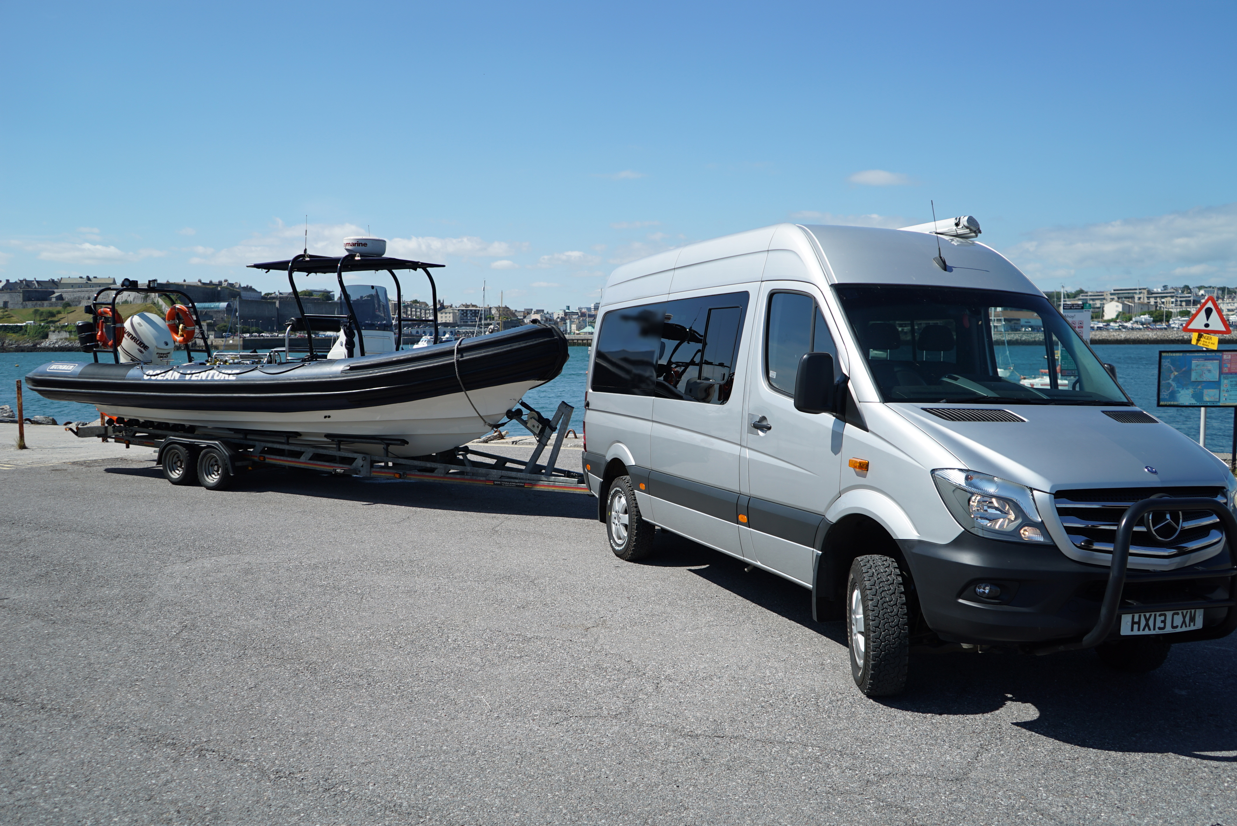 ocean venture and van 2