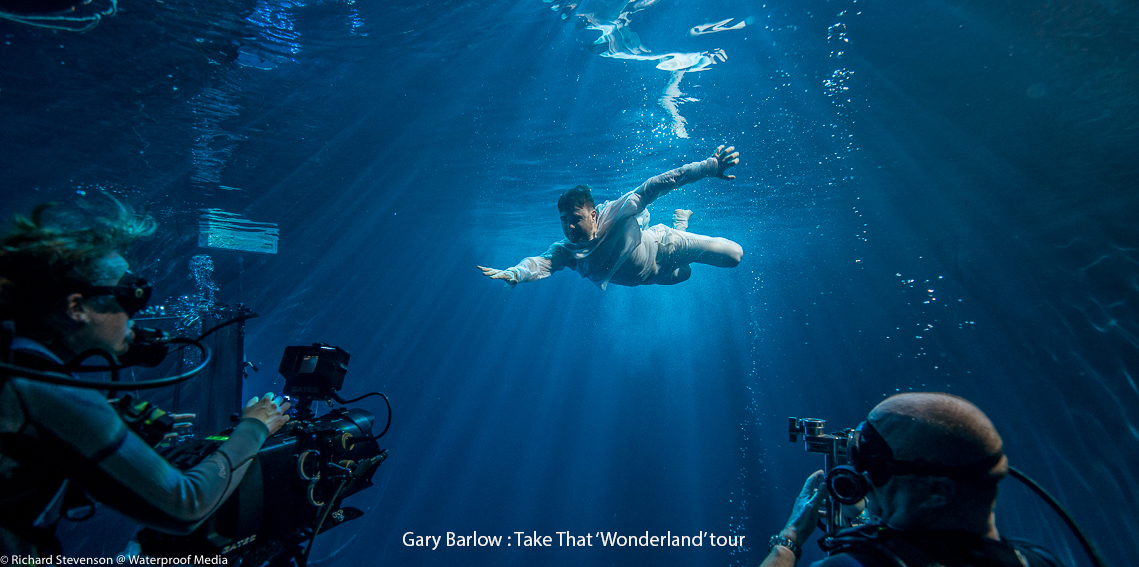 Underwater Filming by Rich Stevenson