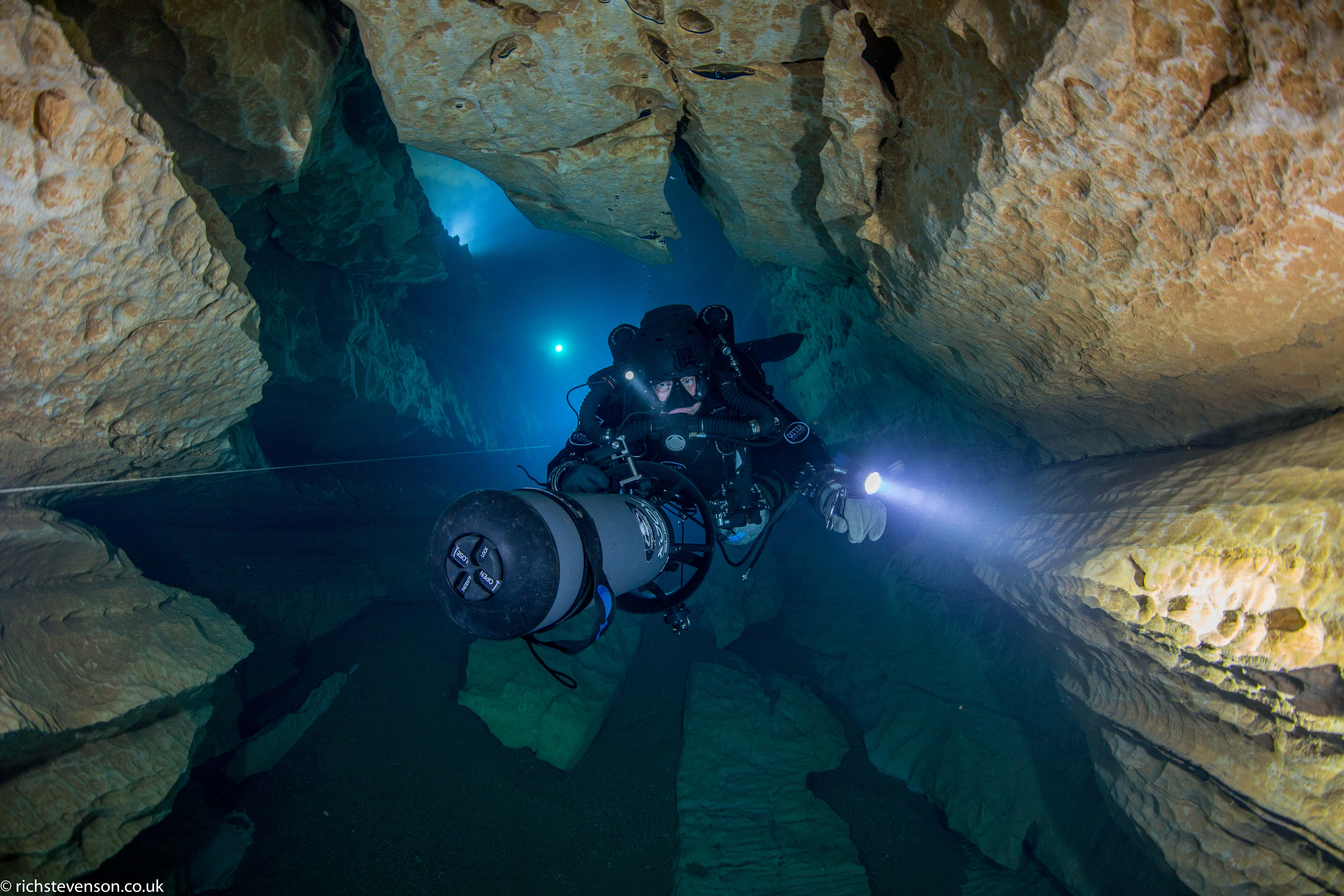 Resel Cave system in France